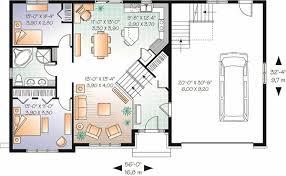 multi level house floor plans split level house floor plan stock