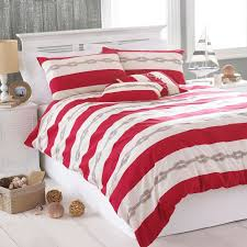 riva home reef natural striped stripe nautical duvet quilt cover