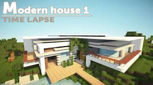 minecraft house building modern time lapse youtube idolza