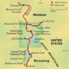 grand national park map yellowstone and grand teton national parks national geographic