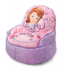 disney sofia the first toddler bean bag sofa chair only 19 98