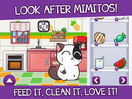 mimitos virtual cat virtual pet with minigames android apps on