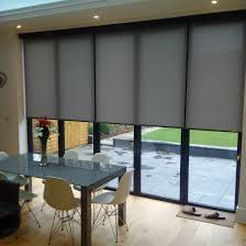 motorised screen fabric roller blinds bramley blinds and awnings