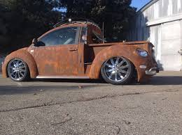 volkswagen bug truck is this one of the coolest vw new beetles around or what w video
