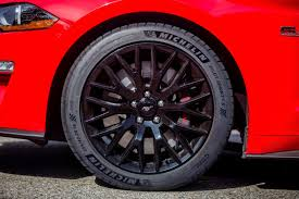 2018 ford mustang gt pp adds new high performance tires