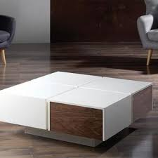 large square modern coffee table modern square coffee table writehookstudio com