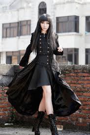 maquillage gothique homme photo n 1 long manteau gothique femme u0027black dove u0027 gothic