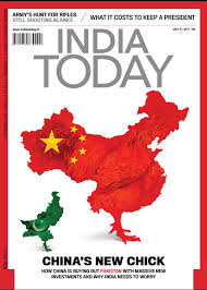 Chinese Map India Today Magazine Exclude Tibet And Taiwan From China Map