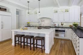 white kitchen cabinets with slate countertops carlisle fashionable custom kitchen platt builders