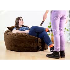 medium sized bean bag lounger great for teens one