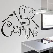sticker design cuisine adhésif décoratif autocollant pour la