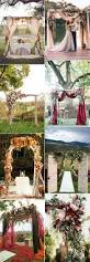 Wedding Arches Decorated With Burlap Best 25 Country Wedding Arches Ideas On Pinterest Redneck