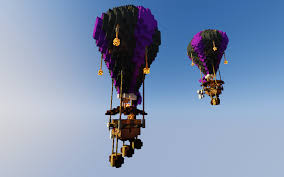 minecraft balloons minecraft hot air balloons album on imgur