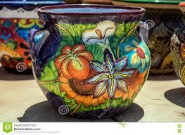 ceramic pot tubac arizona stock photo image 78038891