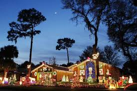 palm harbor christmas lights north pinellas neighbors plug into holiday spirit