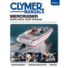 amazon com clymer mercruiser stern drive shop manual 1998 2004