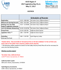 Sacramento Light Rail Schedule Asce Region 9 Legislative Day