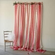 ribbon backdrop pink and wedding backdrop ribbon curtain backdrops and