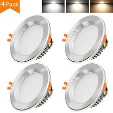 Changing Ceiling Light 50 Discount On Betorcy 3 Inch Led Downlight 3 Colors Changing