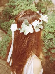 fairy of woods hydrangea flower crown wedding flower crown