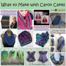 round up what to make with caron cakes stitches u0027n u0027 scraps