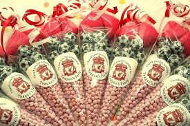 party favours personalised football sweet cones sweet cones fabulous partyware