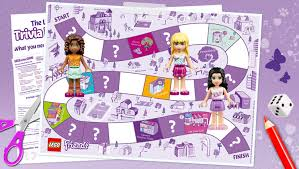 download the lego friends trivia board game downloads