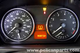 bmw 320i warning symbols list bmw e90 tire pressure warning light reset e91 e92 e93
