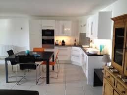 cuisine sejour decoration cuisine ouverte sur sejour avec modele cuisine