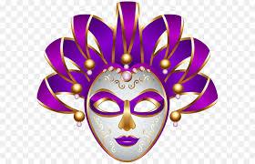 purple mardi gras mask carnival mardi gras clip purple carnival mask transparent