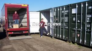 Rent Storage Container Cheap Self Storage Containers To Rent Ash Kent Youtube