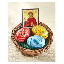 ukrainian easter eggs b7012 28 115 ukrainian easter eggs basket with the 3 painted