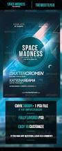 space madness flyer template by odin design graphicriver