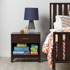 Arts And Crafts Nightstand Cargo Nightstand Charcoal The Land Of Nod