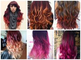 How To Dye Hair Two Colors Image Result For Brown To Burgundy Ombre Short Hair Hair Tips