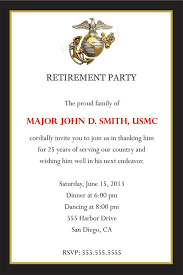 Retirement Invitation Wording 6 Best Images Of Going Away Party Invitation Wording Military