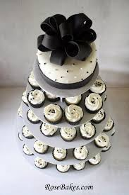 wedding cake cupcakes behance