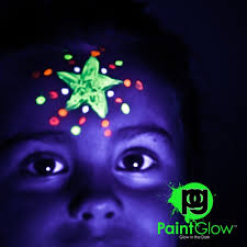 glow paint glow in the paint invisible 10 x 10ml