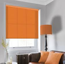 sale tango orange roller blind traditions roller shades