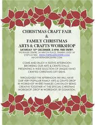 christmas craft fair and kids workshop u2013 the fraser centre