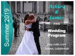 How To Make Wedding Fan Programs Beach Theme Wedding Programs Outside The Box Wedding
