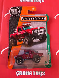 matchbox jeep wrangler sonora shredder 61 red 2017 matchbox grana toys