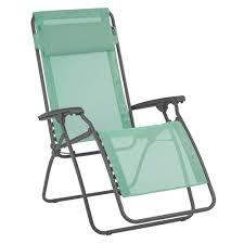 chaise relax lafuma fauteuil relax lafuma r clip menthol hauteur 17 x largeur 67 x