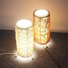 Rattan Table Lamp Online Cheap Fireweeds American Vintage Hand Woven Rattan Table