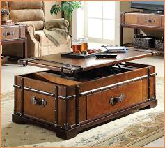 trunk coffee table set vintage trunk coffee tables chest table wood home style dreamshine