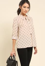 tie front blouse abstract print tie front blouse shop blouse shirts at
