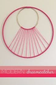 make your own hanging l modern dreamcatcher diy modern wall bonbon and wall hangings