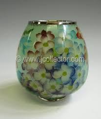 Antique Cloisonne Vases Plique A Jour Cloisonne Vase Hydrangea