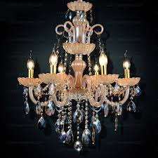 6 lights antique style for living room chandeliers wholesale