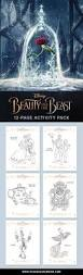 free printable beauty beast coloring pages paging supermom